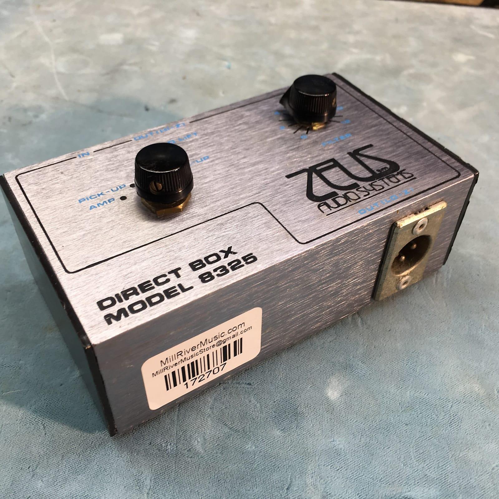 Zeus Audio Systems DI Model 8325 Vintage Direct Box c. 1970s