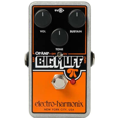 Electro-Harmonix Op Amp Big Muff Pi Reissue Distortion Sustainer Pedal