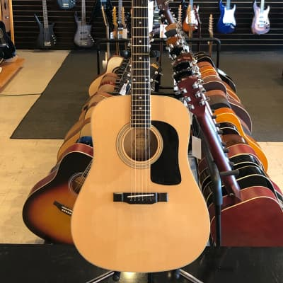USED Washburn D-8 Acoustic Dreadnough Guitar for sale