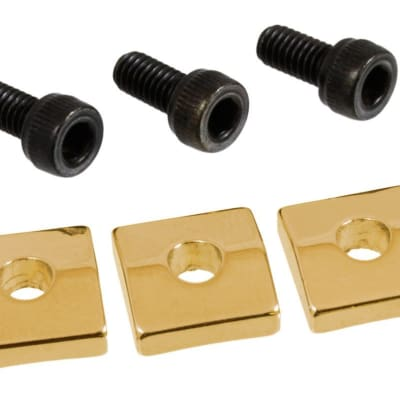 AllParts Nut Blocks for Floyd Rose® Locking Nuts - Gold for sale