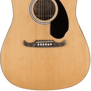 Fender FA-125CE Acoustic Electric Dreadnaught Guitar Natural Rosewood for sale
