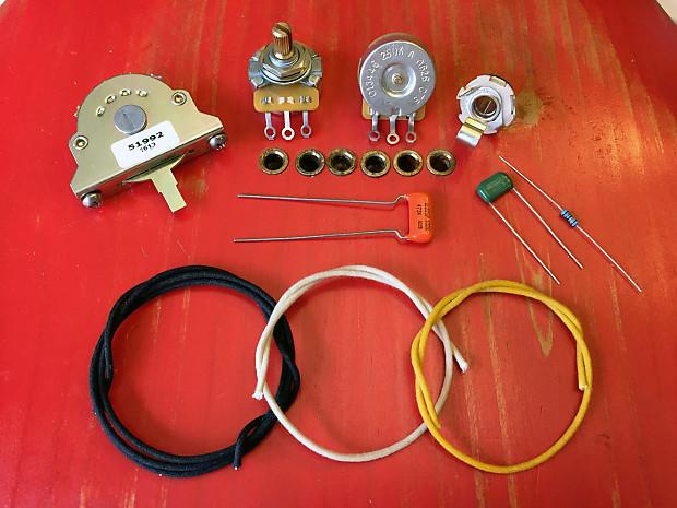 diy telecaster control wiring harness kit cts oak. Black Bedroom Furniture Sets. Home Design Ideas