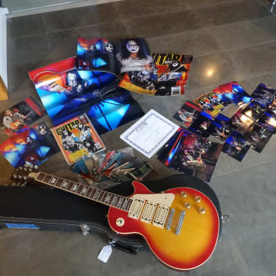 Gibson Ace Frehley Personally Owned and Played KISS Make Up Era 1980s Les Paul Standard 1980s for sale
