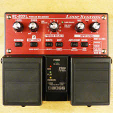 Boss RC-20XL Loop Station Twin Pedal - Guitar Or Vocal Looper Sampler Effect Pedal - Very Good Cond.