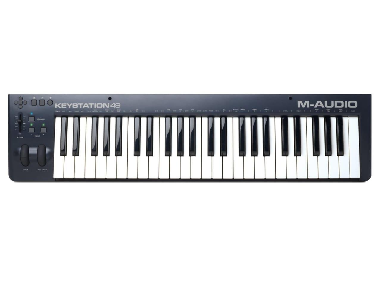 m audio 49 key usb midi keyboard controller reverb. Black Bedroom Furniture Sets. Home Design Ideas