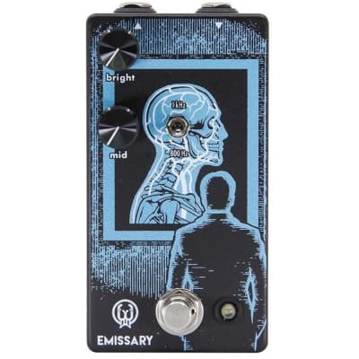 Walrus Audio Emissary Parallel Boost guitar effects Pedal