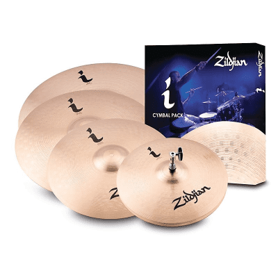 """Zildjian I Family Pro Gig Pack with 14"""" / 16"""" / 18"""" / 20"""" Cymbals"""