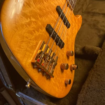 Fender Jazz Bass American Deluxe QMT 2003 for sale