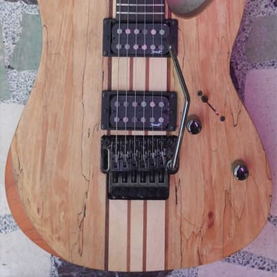 Spear Gladius, Natural with Double Locking Trem - Free Gig Bag, Strings + Strap! for sale