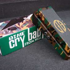 Dunlop DB-01 Crybaby From Hell Wah Guitar Effect Pedal w/ Box