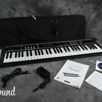 Korg X50-61 Music Synthesizer in Excellent Condition with Soft Case