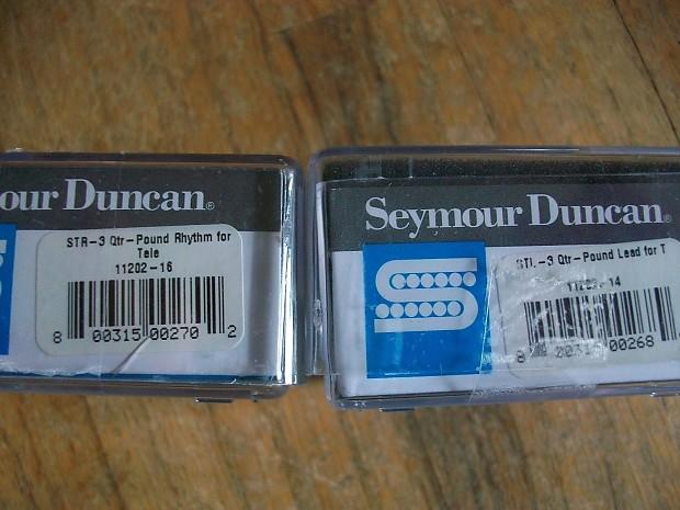 Seymour Duncan Quarter Pound    Telecaster    Pickup Set STL3