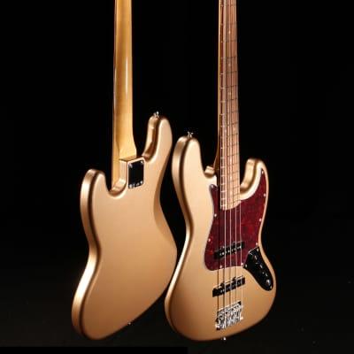 Fender Vintera 60's Jazz Bass Firemist Gold 5827 for sale