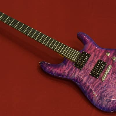 Schecter C-6 Plus - Electric Magenta w/ free shipping! ** for sale