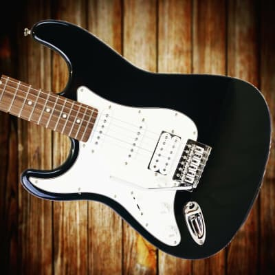 NEW: Cruzer by Crafter ST200/LH Strat Electric Guitar in Black 🎸 *Left Handed* for sale