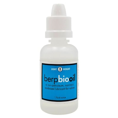 Berp BioOil for Pistons and Rotor Valves - 1 Oz. #1 (Light)