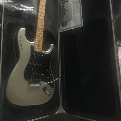 Fender USA 25th Silver Anniversary Stratocaster 1979 Porsche Silver for sale