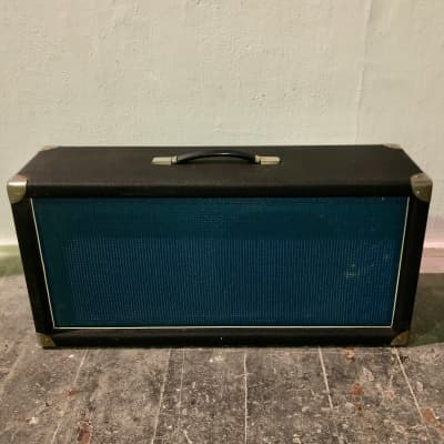 Vintage Simms watts  2x12 guitar cab cabinet all ply construction 1971 UNLOADED for sale