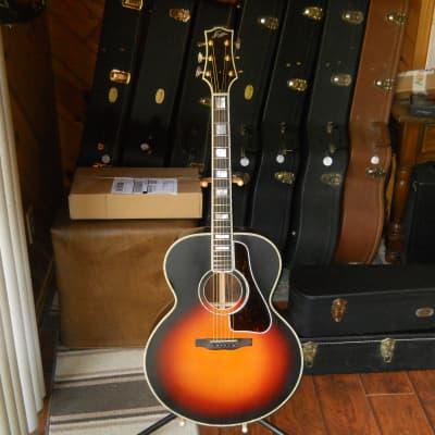 Triggs Jumbo-Brazilian Rosewood-Burst-Gibson HSC for sale