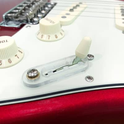 SWITCHLOCK STRATOCASTER CLEAR
