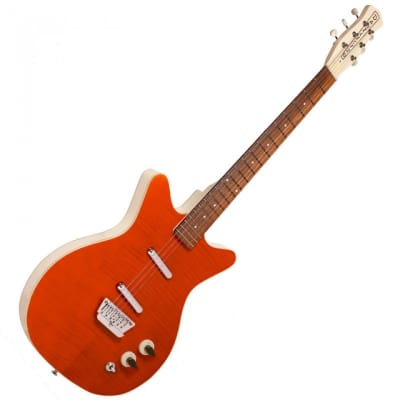 DANELECTRO '59 DIVINE ELECTRIC GUITAR - FLAME MAPLE for sale