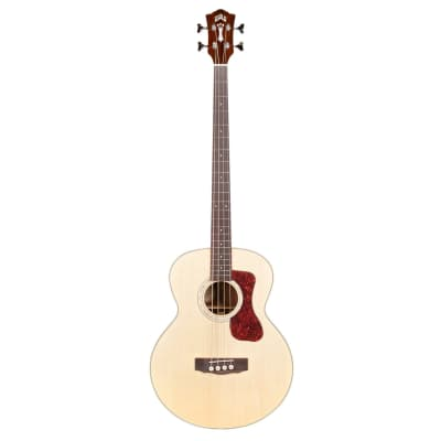 Guild B-140E Jumbo Acoustic Bass Guitar - Natural Gloss Finish for sale