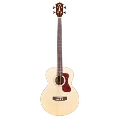 Guild B-140E Jumbo Acoustic Bass Guitar - Natural Gloss Finish for sale