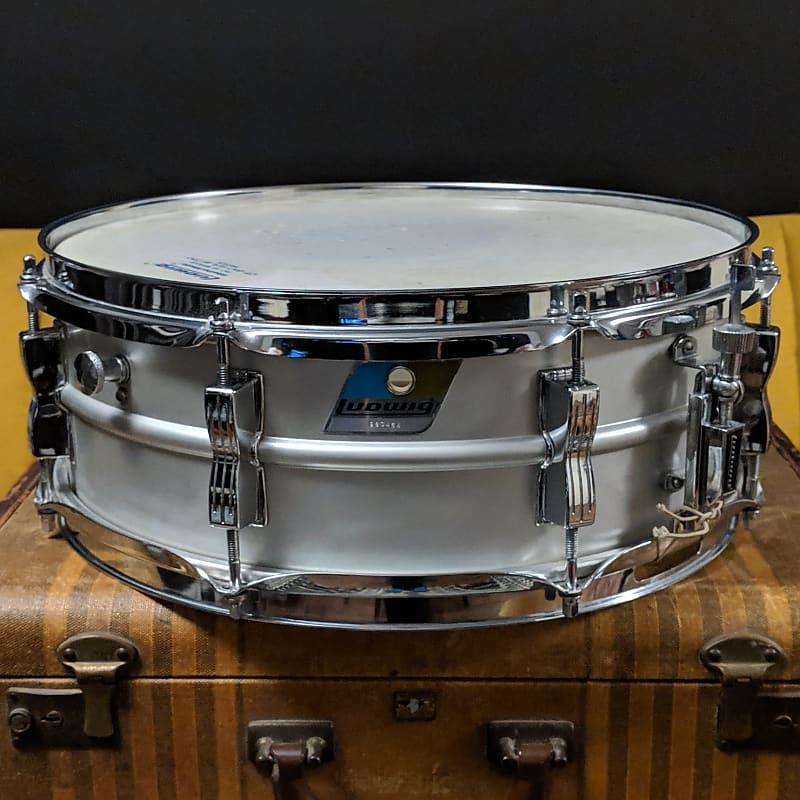 1976 ludwig acrolite 5x14 snare drum complete original case reverb. Black Bedroom Furniture Sets. Home Design Ideas