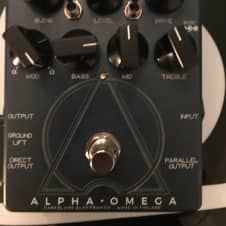 Darkglass Electronics alpha omega 2017 Blue/Dark Blue