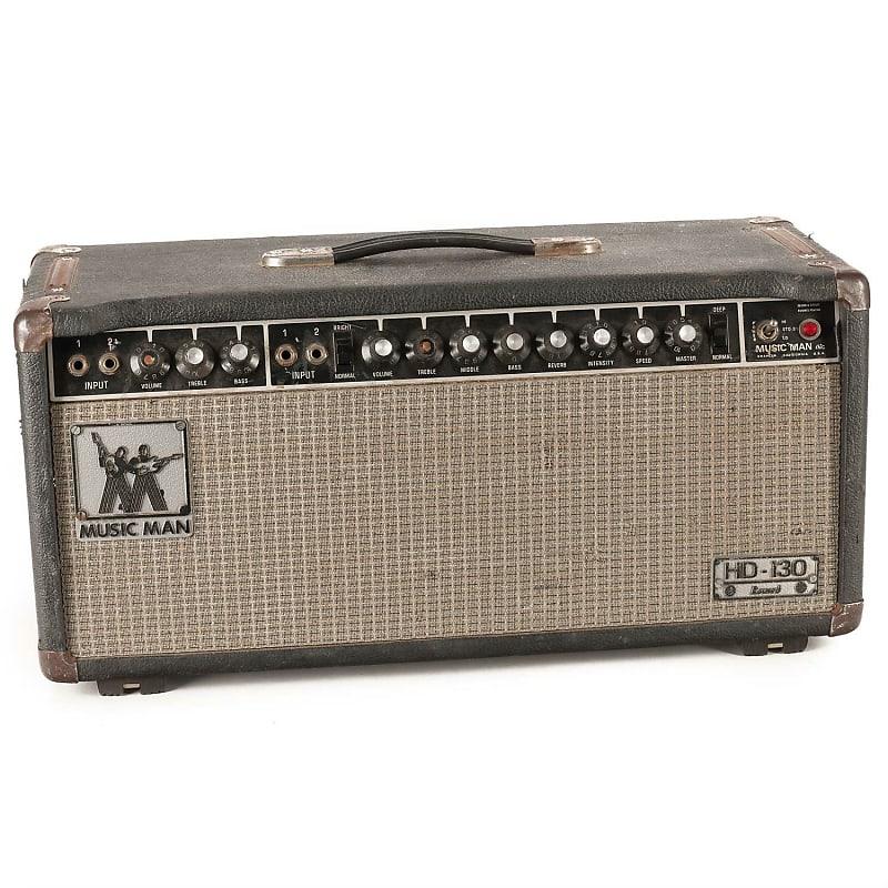 music man hd 130 reverb 2 channel 130 watt guitar amp head reverb. Black Bedroom Furniture Sets. Home Design Ideas