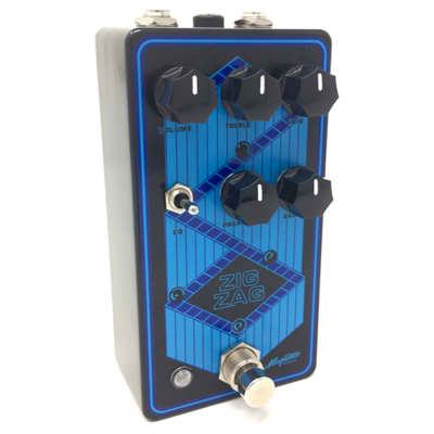 Magnetic Effects Zig Zag Dual Stage Overdrive Guitar Effects Pedal