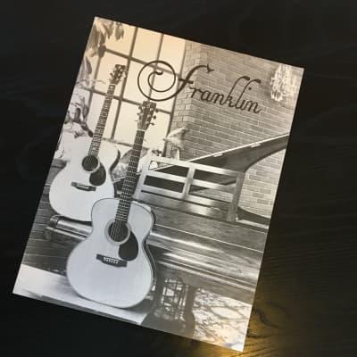 Franklin Guitar catalog 1980 for sale