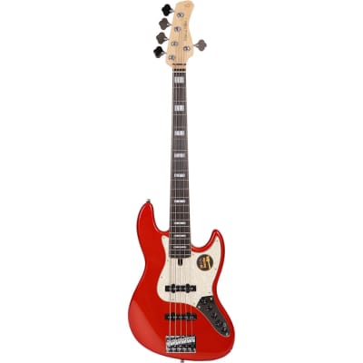 Sire Marcus Miller V7-5 2nd Generation Alder Bright Metallic Red for sale