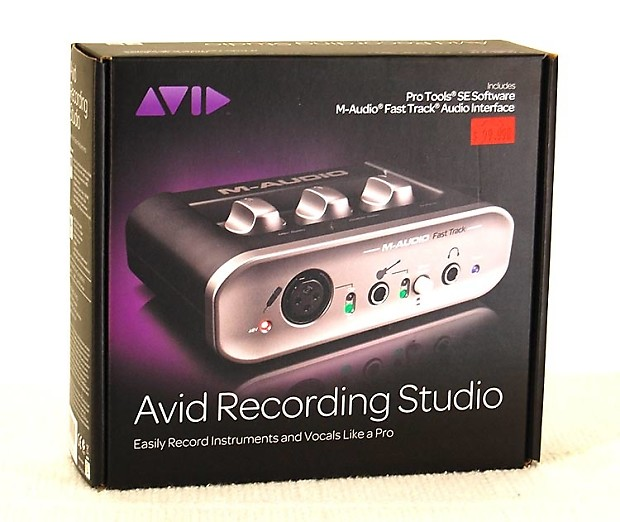 DOWNLOAD DRIVER: M-AUDIO AVID RECORDING STUDIO