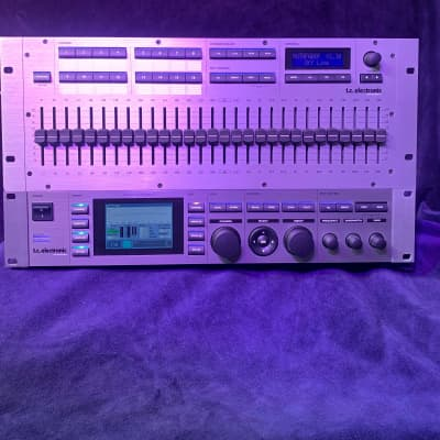 TC Electronic EQ Station 8 with Moto Fader / motorized faders 2008 Silver