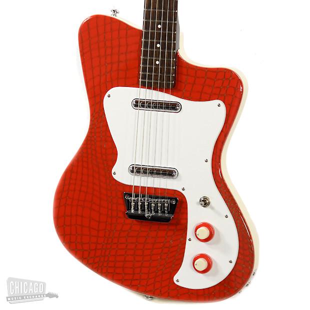 danelectro 39 67 heaven hawk guitar red alligator reverb. Black Bedroom Furniture Sets. Home Design Ideas