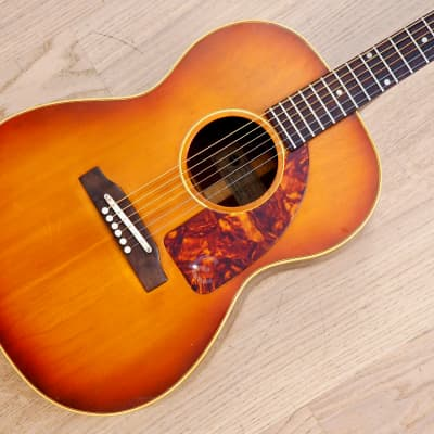 1965 Epiphone FT-45 Cortez Vintage X Braced Acoustic Guitar Gibson-Made, B-25 for sale