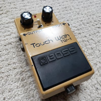 Vintage 78 BOSS Touch Wah TW-1 Guitar Effect Pedal MIJ Auto Filter Japan 7500