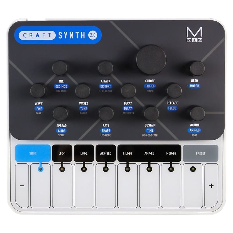 modal craftsynth 2 0 wavetable synthesizer with usb and reverb. Black Bedroom Furniture Sets. Home Design Ideas