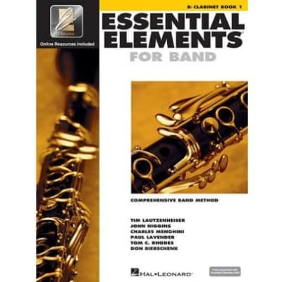 Essential Elements for Band - B-Flat Clarinet | Book 1 (w/ EEi)