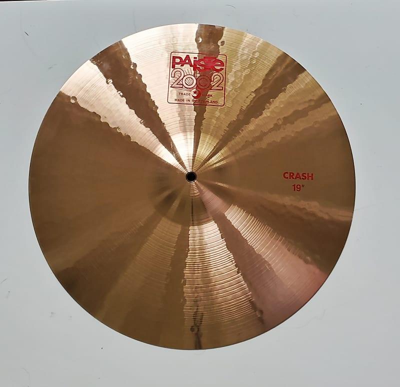 paiste 19 2002 crash cymbal traditional reverb. Black Bedroom Furniture Sets. Home Design Ideas