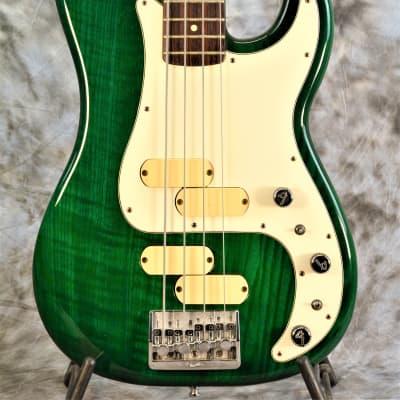 Fullerton built 1983 MIA Fender Precision Bass Elite II - Rare Transparent