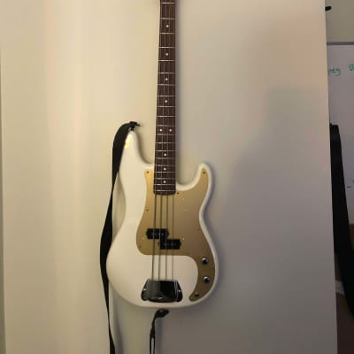 Fender American Vintage '57 Precision Bass 2011 Olympic White (Custom) for sale