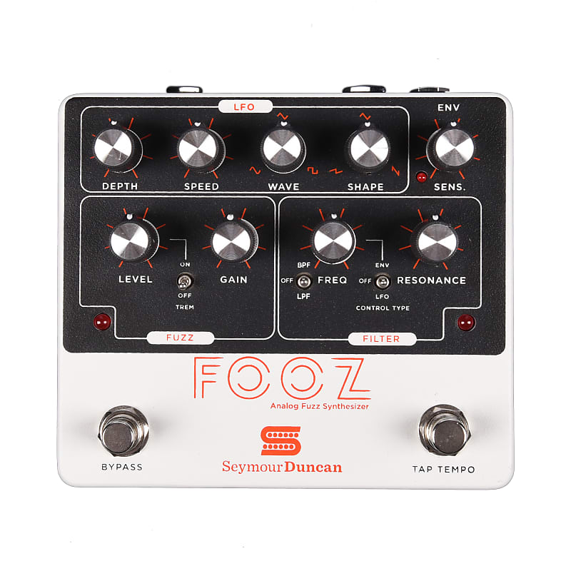 seymour duncan fooz analog fuzz synthesizer pedal reverb. Black Bedroom Furniture Sets. Home Design Ideas