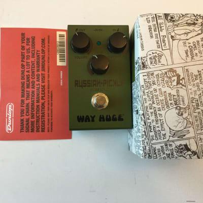 Dunlop Way Huge WM-42 Smalls Russian Pickle Fuzz MKIII Guitar Effect Pedal + Box