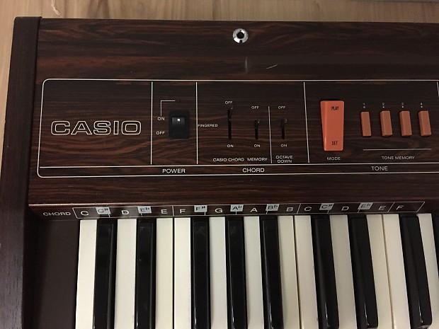 Vintage Casio Casiotone 403 Analog Synthesizer Keyboard