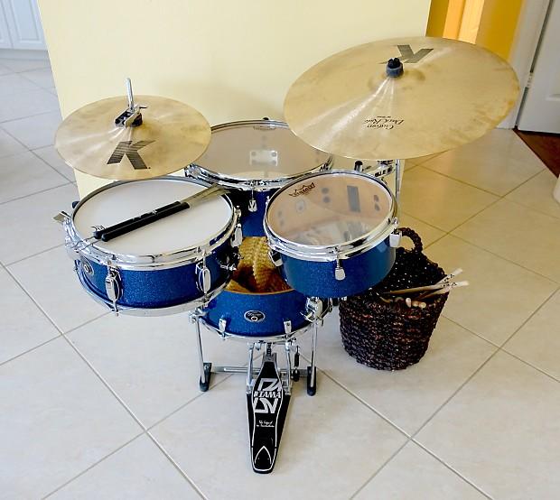 tama silverstar cocktail jam portable 4pc birch drum kit reverb. Black Bedroom Furniture Sets. Home Design Ideas