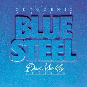 Dean Markley 2034 Blue Steel Light Gauge Acoustic Guitar Strings for sale