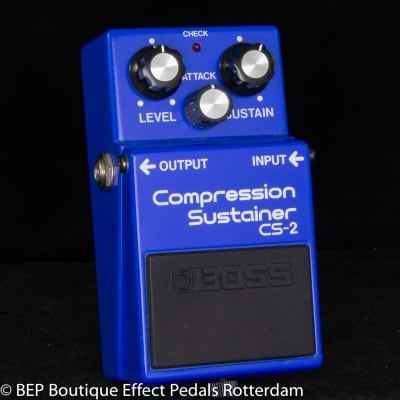 Boss CS-2 Compression Sustainer 1985 Japan s/n 552800 as used by David Gilmour, Josh Klinghoffer