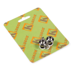 Kluson KCSBN California Custom Jumbo Strap Buttons with Screws (Set of 2)